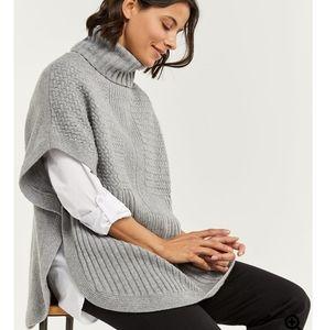 Super Soft Sweater Poncho